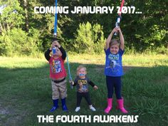 Fourth baby announcement