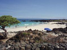 Kua bay beach park - (Manini'owali beach) north of Kailua-Kona, Big Island
