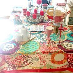 ¿Todo listo para estas fechas? No te olvides de vestir tu #mesa súper elegante con este #mantel de #desigual  Encuentralo en nuestra #tiendaonline www.differentshop.es/manteles-y-caminos/129-japonesa.html