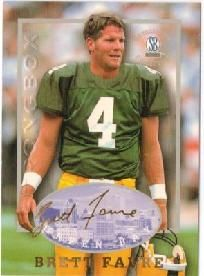 156457c76bcb Free shipping BRETT FAVRE 97 SCORE BOARD AUTOGRAPHED COLLECTION GREEN BAY   PACKERS  FOOTBALL CARD