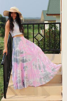 Long Skirt / Long Boho Skirt / Long Maxi Skirt / Modest Skirt / Boho Skirt / Color Tie Dye/ Bohemian Skirt/Soft and Floaty Modest Skirts, Long Maxi Skirts, Boho Skirts, Tie Dye Skirt, Dress Skirt, Bohemian Skirt, Formal Skirt, Full Length Skirts, Beach Skirt