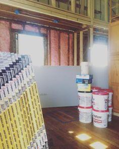 Chris and Shay Broughton on Instagram: The drywall delivery came today! We are hoping to have...