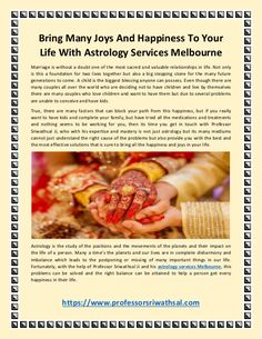 Choose Astrology Services in Melbourne - Bring Happiness to Your Life #professionalastrologerinvictoria