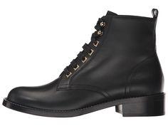 Salvatore Ferragamo Trieste Women's Shoes Nero Calf Leather