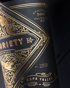 Luxury Wine Packaging by Sterling Creativeworks | HeyDesign Graphic Design & Typography Inspiration