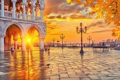 Photo about Piazza San Marco at sunrise, Vinice, Italy. Image of architecture, europe, beautiful - 45809926 Italy Travel Packages, Italy Tour Packages, Vacation Packages, Vacation Trips, Rome Florence, Castle Backdrop, Italy Tours, Italy Trip, Beautiful Castles