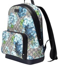 Must-have accessories Gucci Blue GG Blooms printed backpack - Gucci Backpack - Ideas of Gucci Backpack - Must-have accessories Gucci Blue GG Blooms printed backpack Gucci Handbags, Handbags On Sale, Luxury Handbags, Purses And Handbags, Designer Handbags, Gucci Bags, Backpack Bags, Leather Backpack, Laptop Backpack