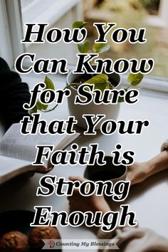 Do you ever wonder if your faith is strong enough? Before you start to worry, the Bible has important things to say about the amount of faith you need. #Faith #BibleStudy #GodLovesYou #CountingMyBlessings How He Loves Us, God Loves You, Christian Faith, Christian Living, Jesus Sacrifice, Grace Alone, Good Prayers, Always Remember Me, When You Believe
