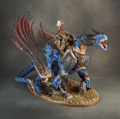Warhammer-edad-de-Sigmar-stormcast-los-eternos-stardrake-Pintado