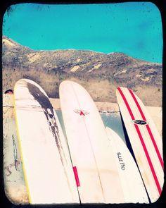 Surf Photography Surfboards Malibu Beach Surfer by LafayettePlace, via Etsy $22.00