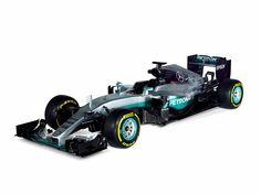 Mercedes-Benz F1 W07 Hybrid Silver Arrow! 