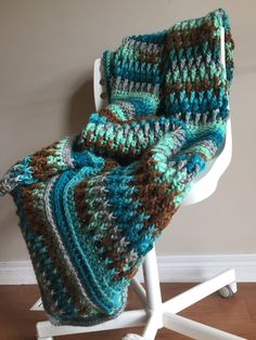 Ripple in Time Throw – A Free Crochet Pattern – Rich Textures Crochet