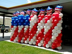 4th of July celebration, Balloons by Balancia LLC