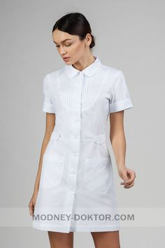 White Nurse Dress, Cna Nurse, Vintage Nurse, Ankara Gown Styles, Medical Uniforms, Nursing Dress, African Print Fashion, Fashion Dresses, Dresses For Work