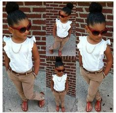 Style Girl Swag Fashion Kids New Ideas Little Girl Outfits, Cute Outfits For Kids, Little Girl Fashion, Cute Little Girls, Toddler Outfits, Toddler Girl Style, Toddler Fashion, Kids Fashion, Swag Fashion