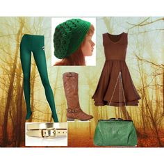 """Robin Hood"" by randi-kay-shears on Polyvore  I really want something like this for my halloween costume"