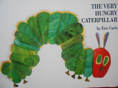 The Very Hungry Caterpillar by Eric Carle, board book. 1994. by MarginaliaBooks on Etsy