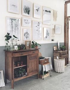 Boho/scandi Gallery Wall - Via Uk Rattanfurniture.com