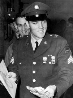 March 5 1960 ,Elvis was release form the army at 9.15 a.m. He received his mustering out pay of $109.54 and was honorable discharged.