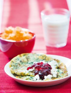Pinaattiletut/ FInnish spinach pancake