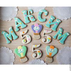 Кулинарные сувениры ручной работы. Пряники на день рождения мальчика. Волшебный…