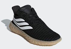 adidas Sobakov Black Gum Release Date - Sneaker Bar Detroit Sneaker Bar, Sneaker Games, Adidas Sneakers, Shoes Sneakers, Black Gums, Sneaker Brands, Look Cool, Platform Sneakers, Sneakers Fashion