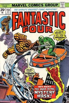 Fantastic Four #154 - The Man in the Mystery Mask