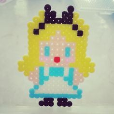 Alice perler beads by shirley117