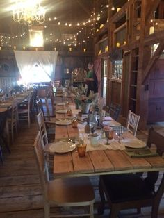 Beautiful decorations for a rustic themed wedding or party - Caterer Jersey City, NJ