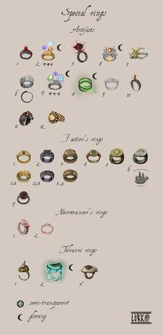 Special Rings by lukkar on DeviantArt