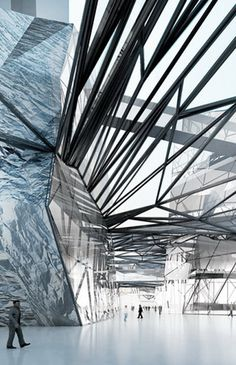 meixihu culture and arts center' by hans hollein, changsha, china
