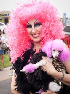 Only in Austin: The weird sights of the Easter Pet Parade — when dogs are colored pink