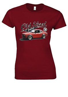 Mazda Rx3SP 70s Japanese Retro Old Skool Cherry Red Women T Shirt TopXXL ** AMAZON Great Sale