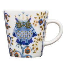 Showcasing an artful owl motif, this porcelain espresso cup adds folk-art flare to your favorite artisan roast. Coffee Mug Sets, Mugs Set, Coffee Cups, Cappuccino Cups, Espresso Cups Set, Owl Mug, Design Bestseller, China Porcelain, Cup And Saucer