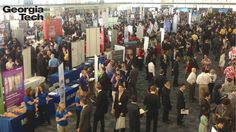 350+ companies from across the globe come to Georgia Tech to find future employees.  --  http://c.gatech.edu/15ejvZz