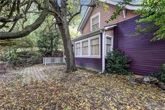 great color, double lot. lots of original details. 1906 home. 3902 Friday ave, everett