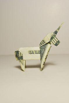 27 Inspiration Photo of Origami Tutorial Animal . Origami Tutorial Animal Money Unicorn Origami Animal 1 Dollar Tutorial Diy Folded No Glue