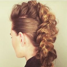 French Mohawk | French Braided Mohawk | Today's inspiration | Urban Edge