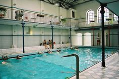 Nordbad, Dresden, Germany Dresden Germany, Swimming Pools, Outdoor Decor, Home Decor, Swiming Pool, Pools, Decoration Home, Room Decor, Home Interior Design