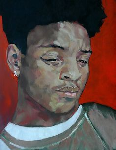Portrait de Killian Portrait Art, Artwork, Painting, Oil On Canvas, Work Of Art, Painting Art, Paintings, Painted Canvas