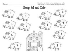Sheep Roll and Color