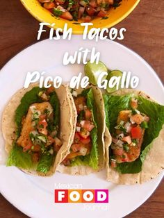 Cod Tacos Recipe, Best Fish Taco Recipe, Shrimp Taco Recipes, Mexican Food Recipes, Dinner Recipes, Cod Fish Tacos, Fried Fish Tacos, Easy Fish Tacos, Pan Fried Fish