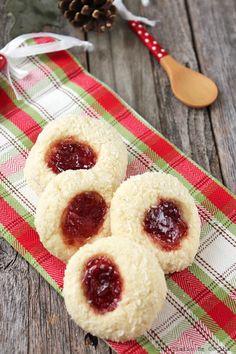 Galletas de coco con mermelada – Mi Diario de Cocina Sin Gluten, Bakery, Food And Drink, Coconut, Tasty, Cookies, Sweet, Recipes, Amor