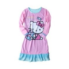 Hello Kitty Girls' Sleep Gown