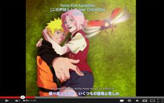 NaruSaku Screen Cap by Palmtop-Peanut on deviantART