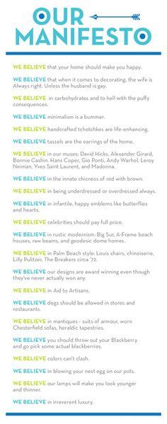 Jonathan Adler Mobile...What is your design manifesto?
