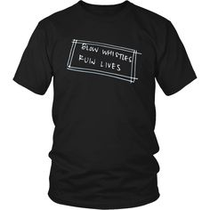 Blow Whistles Ruin Lives Ref Shirt