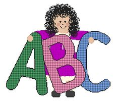 ABC letter formation poems - Copy poems and form letters on cardstock using glitter nail polish for tactile/kinesthetic activity similar to sandpaper letters.  A - Pull down twice from the point on top.  Add a seat to view the apple crop.