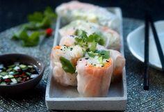 Jarní závitky.. vynech krevety ;-)