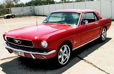 Classic 1966 Mustang! This is the car I have always wanted!! Convertible would be perfect! #ad